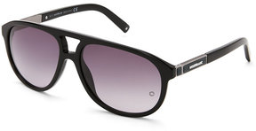 Montblanc MB 462S Black Aviator Sunglasses
