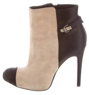 Giambattista Valli Cap-Toe Ankle Boots