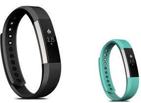 Fitbit Alta HR and Alta Replacement Bands LARGE Size 2 PCS BUNDLE SET, by Zodaca Soft TPU Rubber Adjustable Wristbands Watch Band Strap For Alta HR / Alta LARGE Size - Black + Mint Green