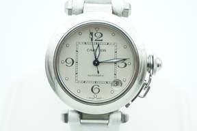 Cartier Pasha de Automatic White Dial Men's Watch