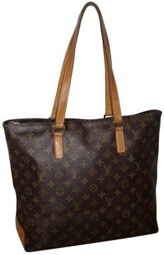 Louis Vuitton Neverfull cloth tote - BROWN - STYLE