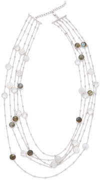 Candela Women's 5-Strand Multi-Stone Necklace