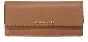 MICHAEL Michael Kors Jet Set Flat Wallet - LUGGAGE - STYLE
