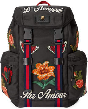 Gucci techpack backpack - BLACK - STYLE