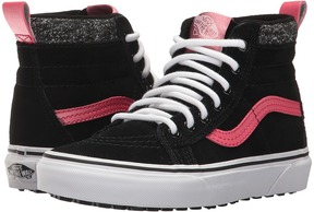 Vans Kids SK8-Hi MTE Black/Metallic) Girls Shoes