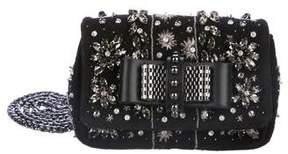 Christian Louboutin Crystal Embellished Sweet Charity Bag