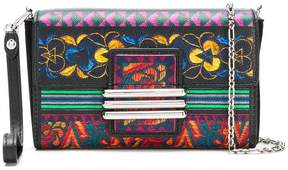 Etro printed mini cross-body bag