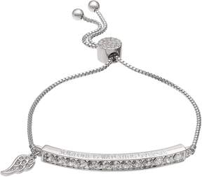 Brilliance+ Brilliance Someone is Watching Over Me Adjustable Bracelet with Swarovski Crystals