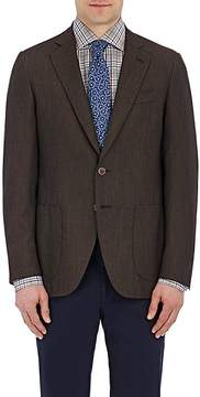 Isaia Men's Gregory Cashmere Two-Button Sportcoat