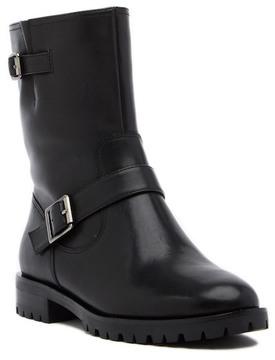 Tahari Daria Buckled Leather Boot