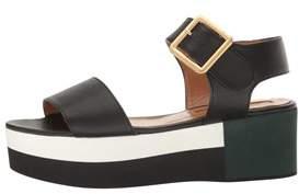 Andre Assous Womens Paz Open Toe Special Occasion Platform Sandals.