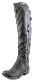 American Rag Duncan Women Round Toe Synthetic Black Over The Knee Boot.