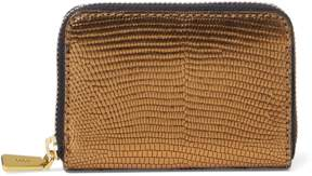 Polo Ralph Lauren Lizard-Embossed Leather Wallet
