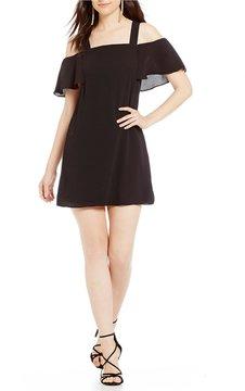 B. Darlin Cold-Shoulder Shift Dress