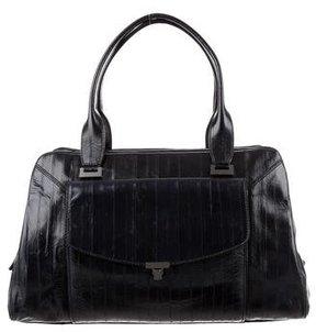 L'Wren Scott Eel Skin Shoulder Bag