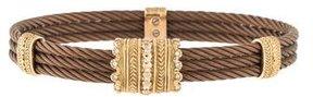 Charriol Diamond Cable Bracelet