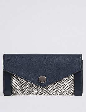 Marks and Spencer Colour Block Purse with CardsafeTM