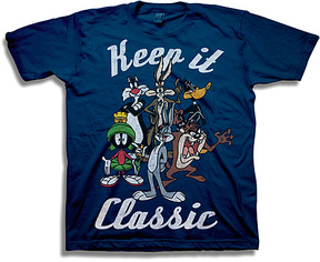 Freeze Looney Tunes Navy 'Keep it Classic' Tee - Boys