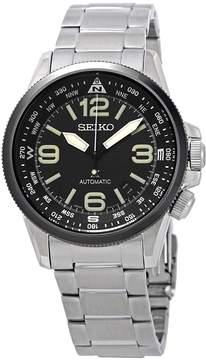 Seiko Automatic Black Dial Men's Watch