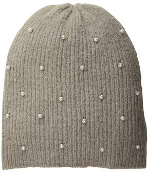 Collection XIIX Pearl Knit Hat Caps