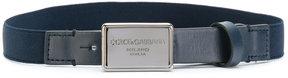 Dolce & Gabbana Kids branded buckle belt