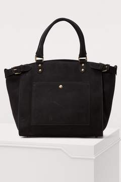 Vanessa Bruno Eclipse large calfskin leather bag