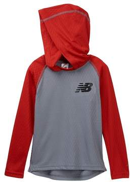 New Balance Hooded Performance Pullover (Little Boys & Big Boys)