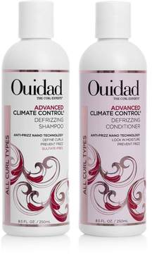 Ouidad Advanced Climate Control Defrizzing Shampoo and Conditioner Duo