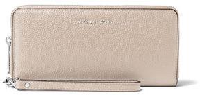 MICHAEL Michael Kors Mercer Leather Continental Wristlet - CREAM - STYLE