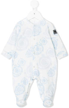 Versace baroque print pyjamas