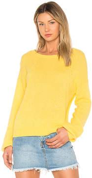 White + Warren Blouson Sleeve Sweater