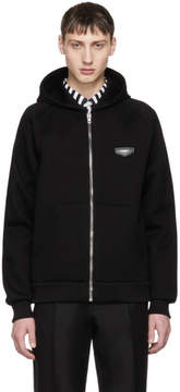 Givenchy Black Logo Patch Hoodie