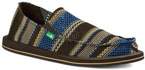 Sanuk Blue Yew-Knit Slip-On Shoe - Men