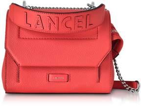 Lancel Coral Ninon Round Leather Small Flap Bag