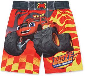 Trunks LICENSED PROPERTIES Blaze Swim Toddler Boys