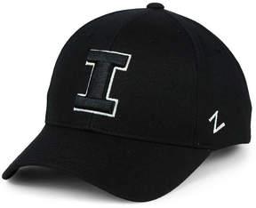 Zephyr Illinois Fighting Illini Black & White Competitor Cap