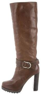 Brunello Cucinelli Platform Knee-High Boots