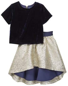 Andy & Evan Bodice & Skirt 2-Piece Set (Toddler, Little Girls, & Big Girls)