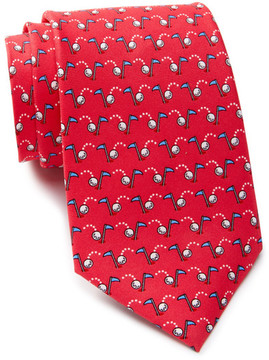 Tailorbyrd Silk Hole-in-One Tie