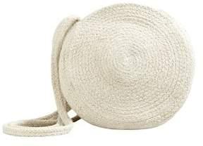 MANGO Jute cross-body bag