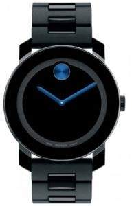 Movado Men's Bold Swiss Watch - Black - 3600099