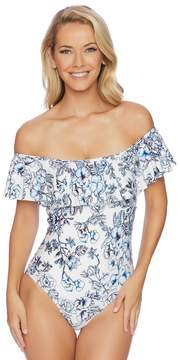 Athena Garden Party Off Shoulder Maillot