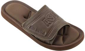 NCAA Men's Arizona State Sun Devils Memory Foam Slide Sandals