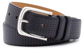 Mezlan Diver Woven Leather Belt