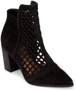 Schutz Jameson Leather Chelsea Booties