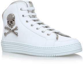 Philipp Plein Leather Super Dothan Sneakers