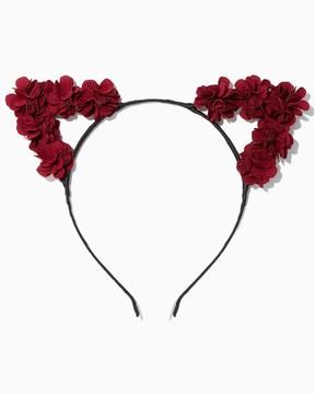 Charming charlie Blossoming Kitty Ears Headband