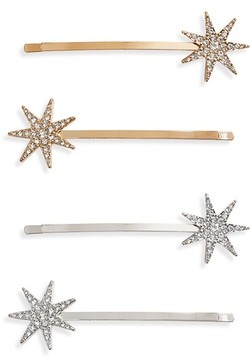 Tasha 2-Pack Crystal Bobby Pins