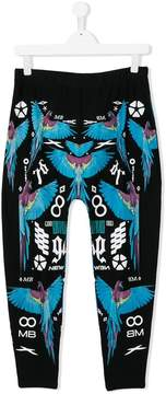 Marcelo Burlon County of Milan Kids macaw print trousers