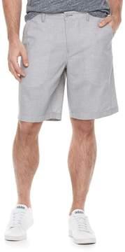 Marc Anthony Men's Slim-Fit Houndstooth Linen-Blend Shorts
